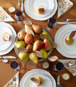 Thanksgiving Centerpieces - Pile of Pears-Christopher Baker