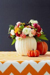 Thanksgiving Centerpieces - Pumpkin Vase-Raymond Hom